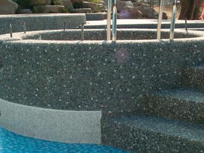 Pavimentazione e rivestimento MP Stone per piscine