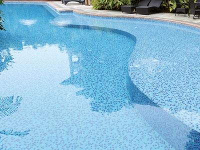 Rivestimenti con MP Mosaic ambiente piscine e centri benessere