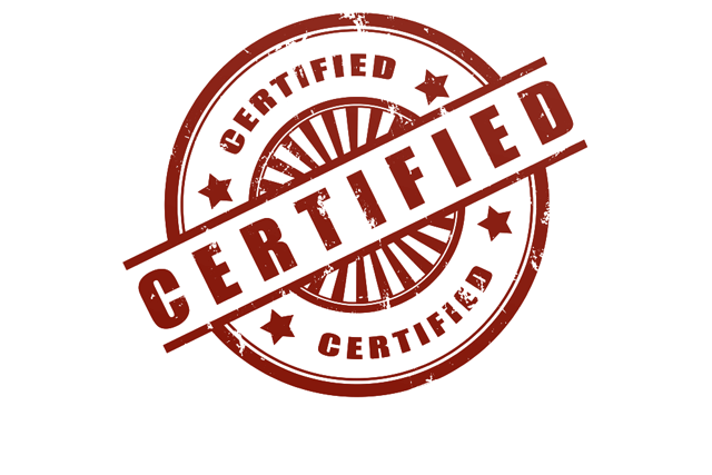 CERTIFIED PRODUCTS AND MAXIMUM WARRANTY